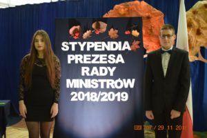 Stypendia Prezesa Rady Ministrów dla Wiktorii Piórkowskiej i Piotra Tańskiego