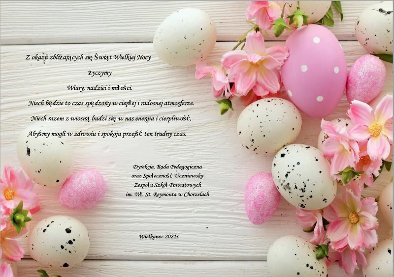 Życzenia Wielkanocne 1